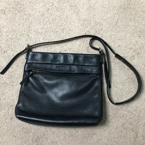 Gorgeous Kate Spade Black Pebble Leather Crossbody